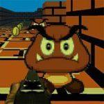 لعبة ماريو يتحدى الزومبى