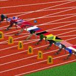 لعبة الجرى اولمبياد كمبيوتر صخر