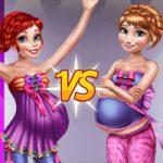 لعبة تسوق الاميرات الحوامل
