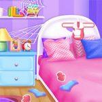 لعبة تنظيف غرفة النوم