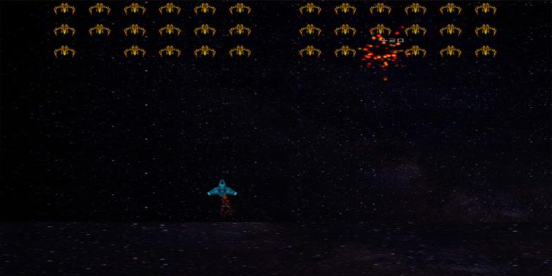 لعبة طائرات حرب الفضاء