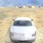 لعبة سيارات الطريق الصحراوى