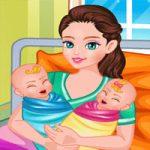 لعبة ولادة حقيقية